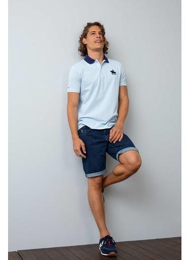 U.S.Polo Assn. Polo Yaka Tişört Mavi